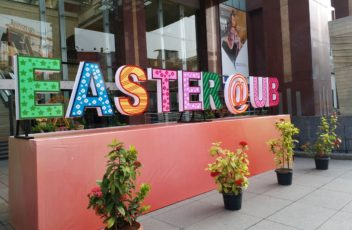 EASTER DECOR AT UB CITY